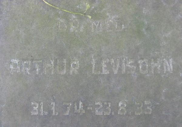 Arthur Levisohn