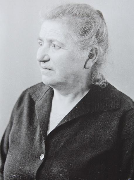 Julie Markus, geb. Hanau (Foto: Weberskirch/Kordes)